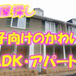かわいい 1LDK・アパート[ 岡山市北区大安寺中町]