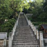 JR三門駅近くにある國神社へ 岡山市