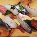 岡山中央卸売市場にある回転寿司のいち鮨へ