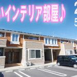 [かわいい部屋]インテリアに便利な間取り2ldk賃貸アパート岡山市