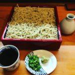 年末 天ぷらの美味しい蕎麦屋で昼食 岡山市