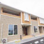 かわいいお部屋 インテリアアパート 新築 2DK賃貸物件 岡山市中区藤崎