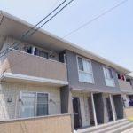 オシャレな一人暮らし部屋 広いリビング 1LDK賃貸アパート 岡山市中区平井