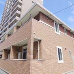かわいい外観のお部屋 女子の一人暮らし 1K賃貸アパート 岡山市北区西古松