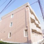 一人暮らし インテリアのレアウトに便利な間取り1K賃貸マンション 岡山市北区富田
