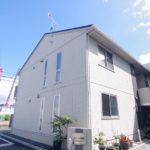 オシャレなインテリア部屋 1LDK賃貸アパート 岡山市北区桑田町クレールSIX
