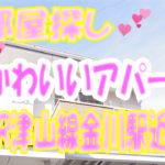 ソレアード御津・かわいい2DKアパート角部屋[岡山市北区御津金川]