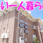 [社会人 かわいい部屋]女子一人暮らし1LDK賃貸アパート 岡山市