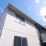 街中の1LDK賃貸アパート クレールSIX 岡山市北区桑田町